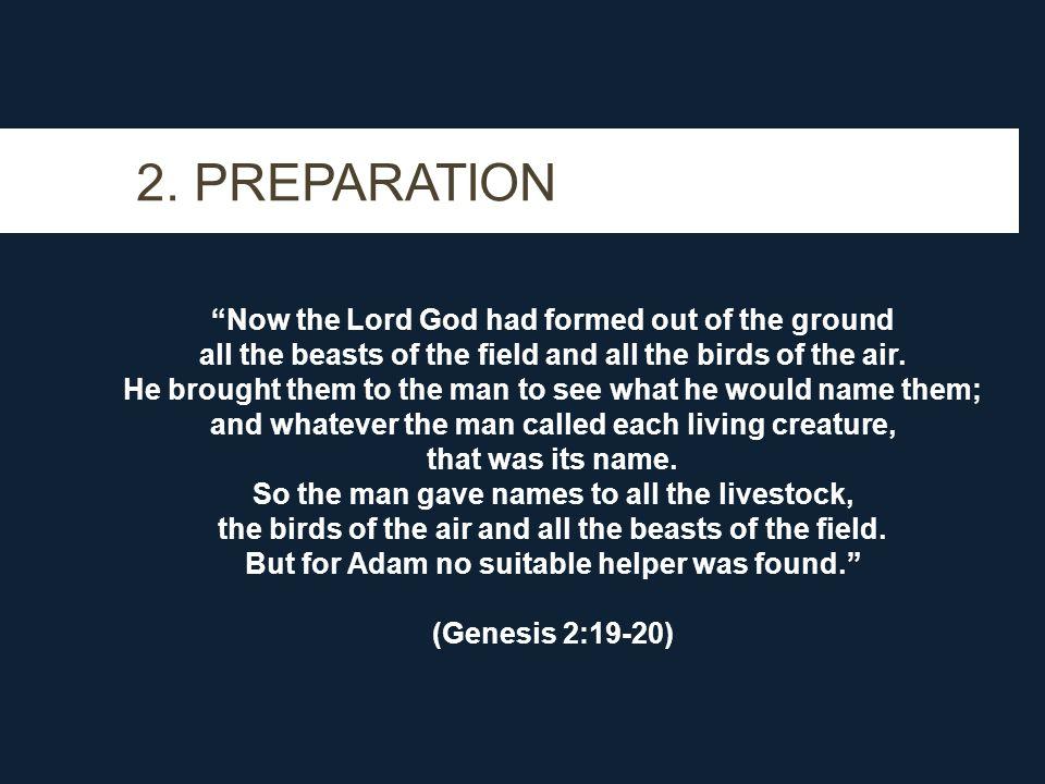 2. PREPARATION