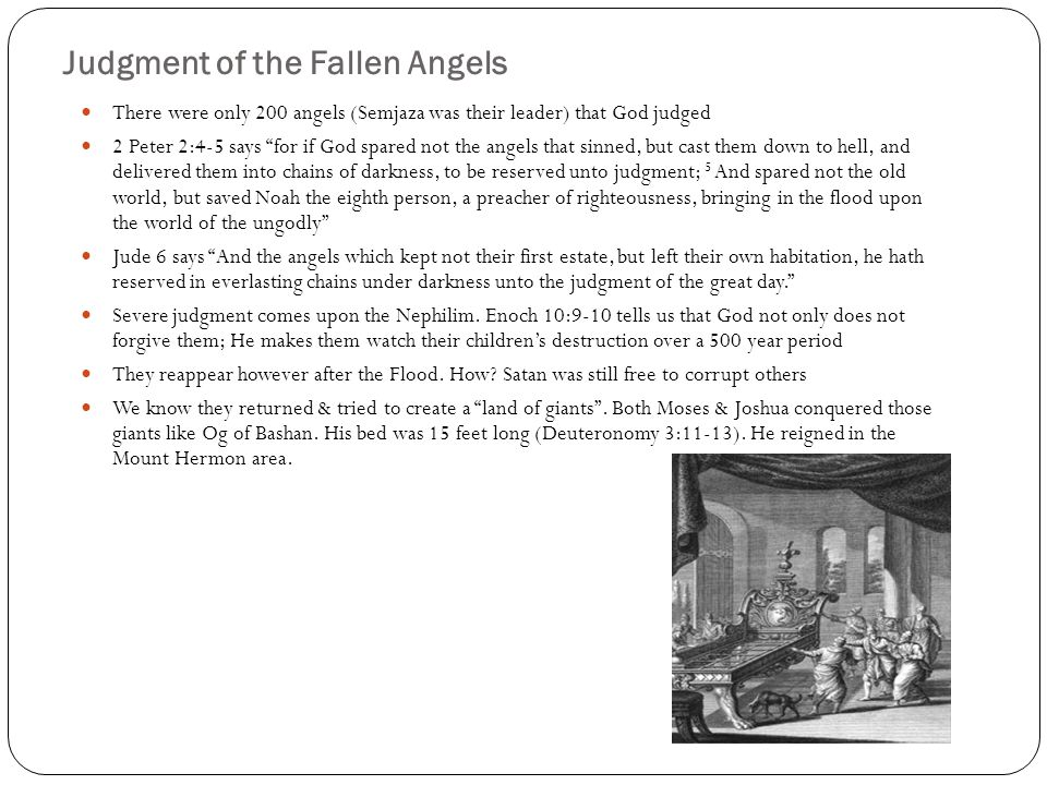 Judgment of the Fallen Angels