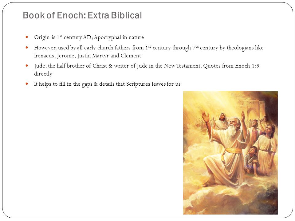 Book of Enoch: Extra Biblical