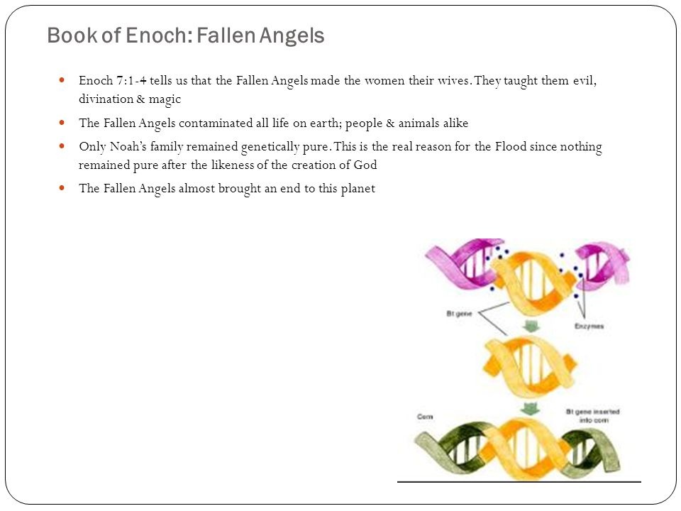 Book of Enoch: Fallen Angels