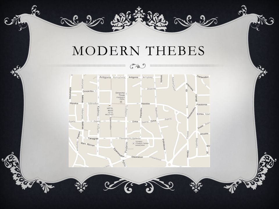 MODERN THEBES