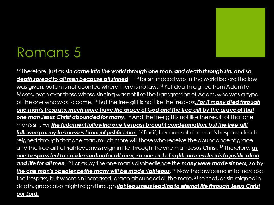 Romans 5