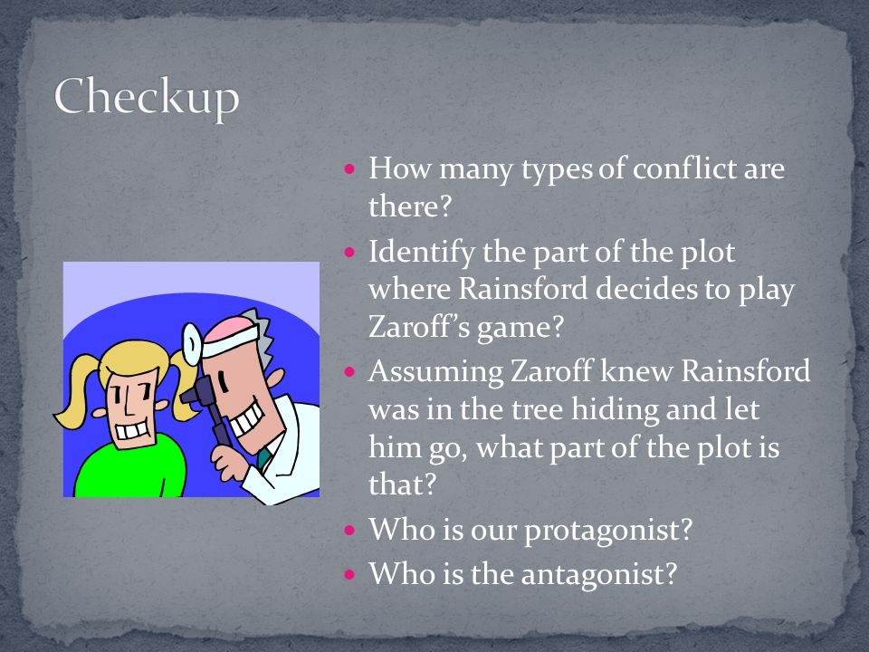 Checkup How many types of conflict are there