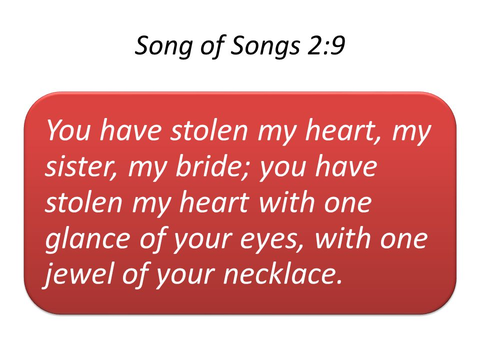 Song of Songs 2:9