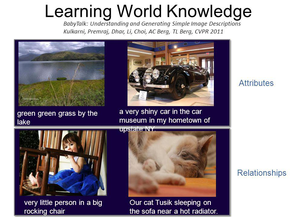 Learning World Knowledge