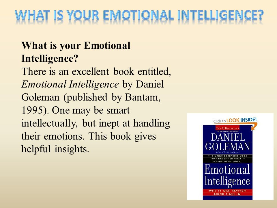 What is your Emotional Intelligence