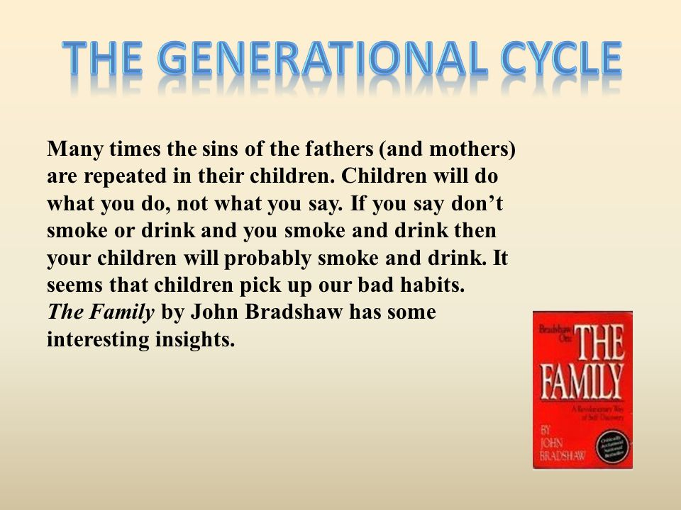 The generational cycle