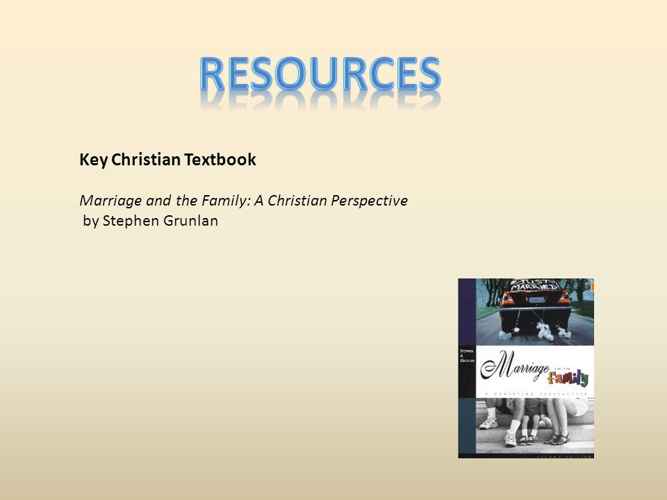 resources Key Christian Textbook