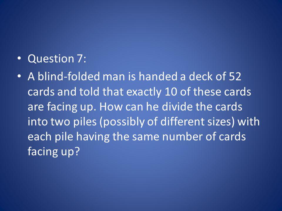 Question 7: