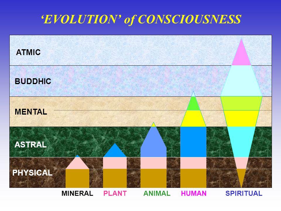 'EVOLUTION' of CONSCIOUSNESS