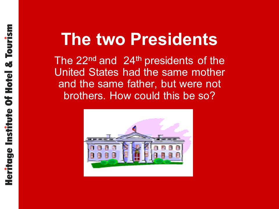 The two Presidents