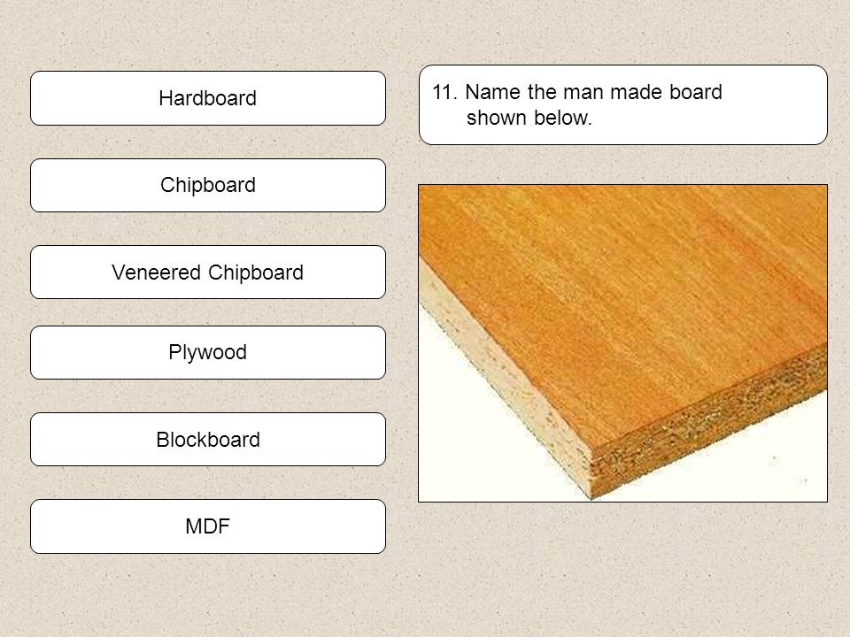 Man made board quiz ppt video online download