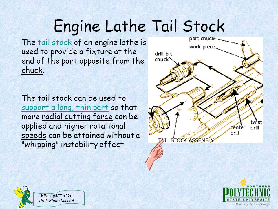 Engine Lathe Tail Stock
