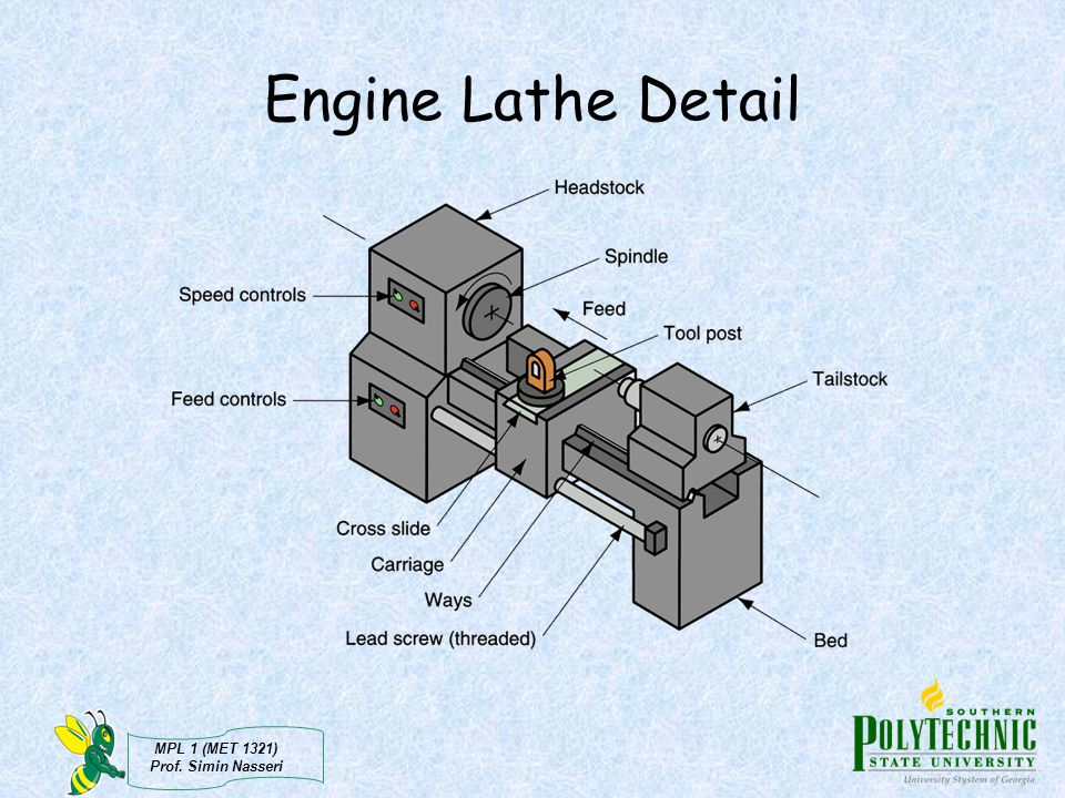 Engine Lathe Detail