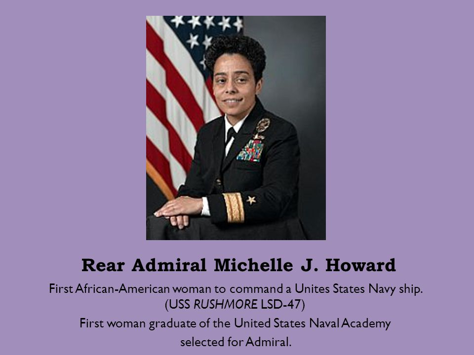 Rear Admiral Michelle J. Howard