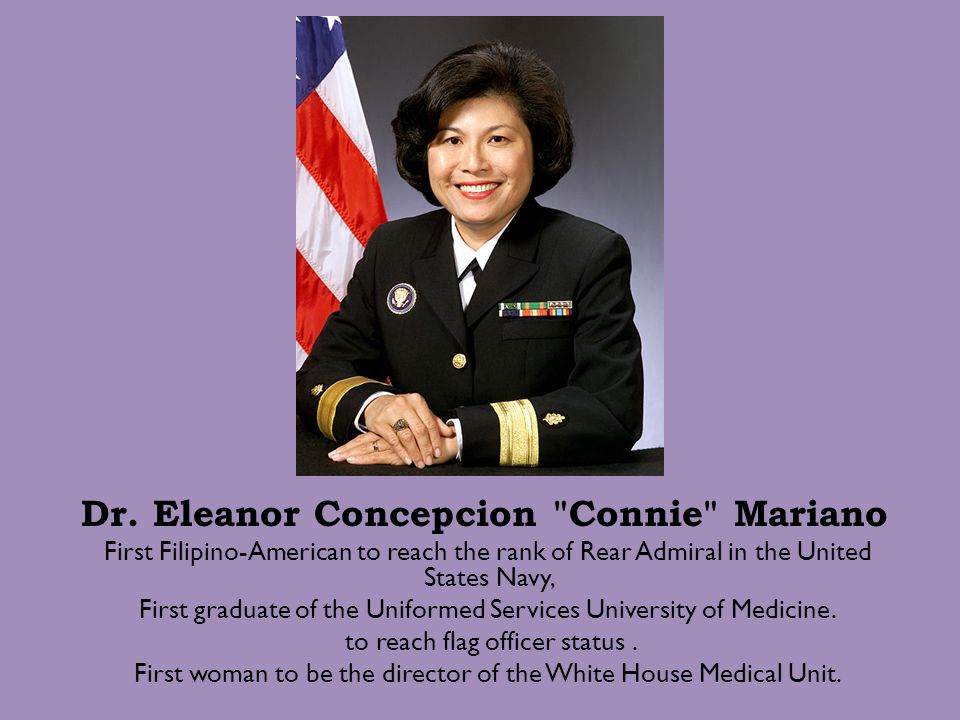 Dr. Eleanor Concepcion Connie Mariano