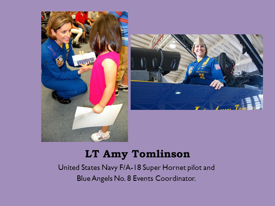 LT Amy Tomlinson United States Navy F/A-18 Super Hornet pilot and