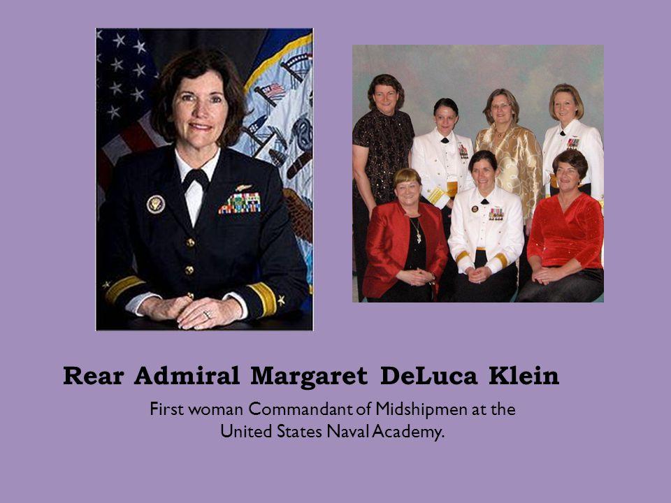 Rear Admiral Margaret DeLuca Klein
