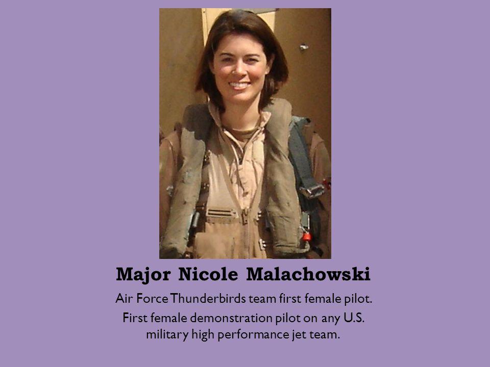 Major Nicole Malachowski