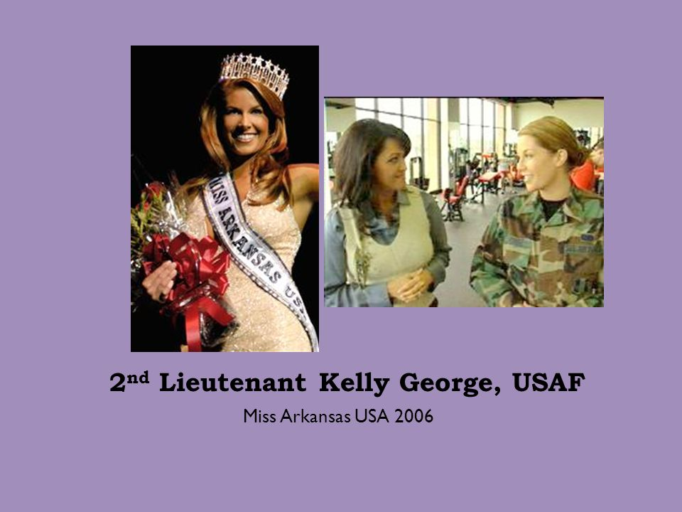 2nd Lieutenant Kelly George, USAF