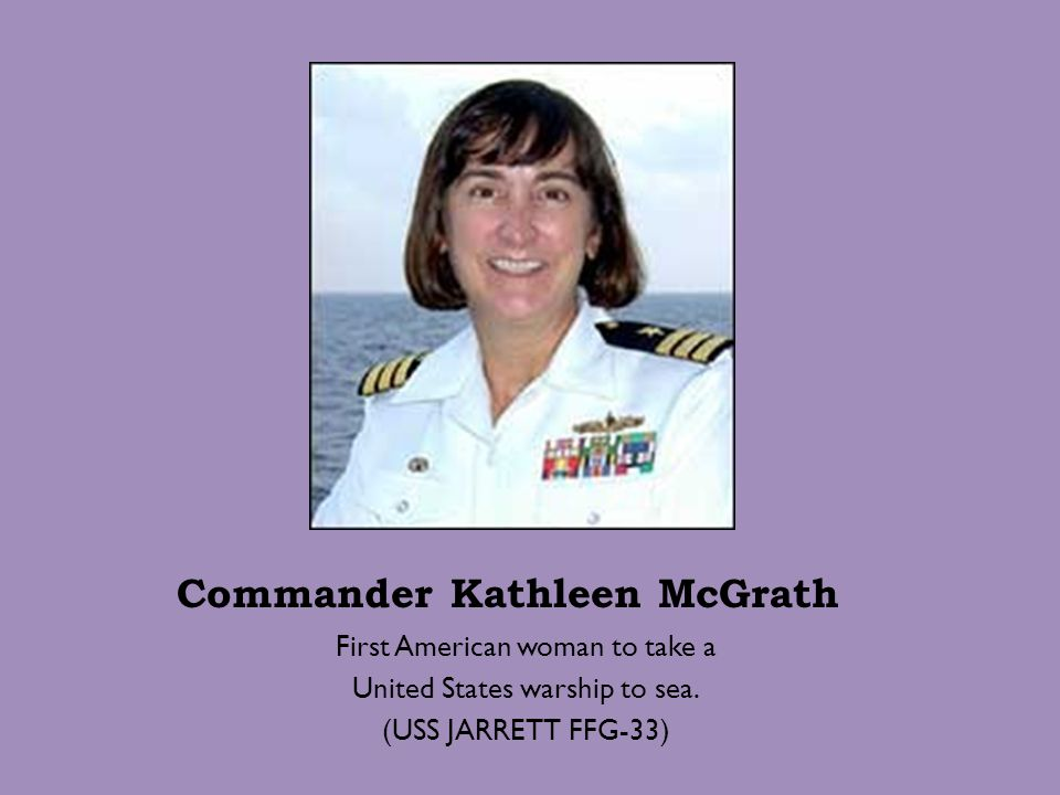 Commander Kathleen McGrath