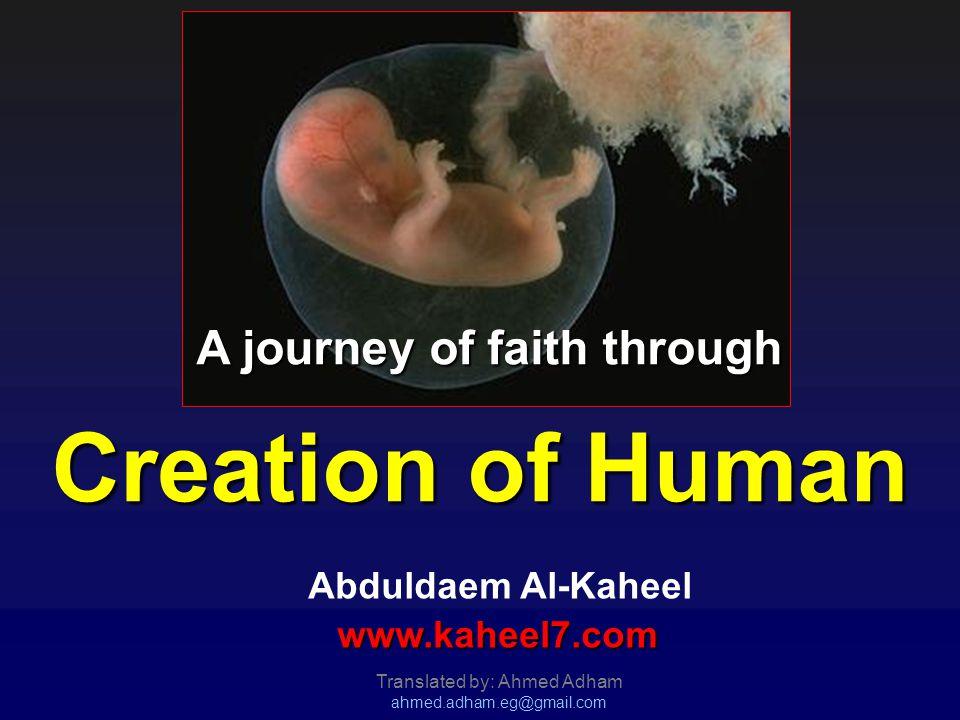 A journey of faith through Creation of Human