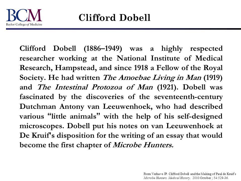 Clifford Dobell