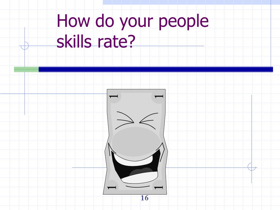 How do your people skills rate