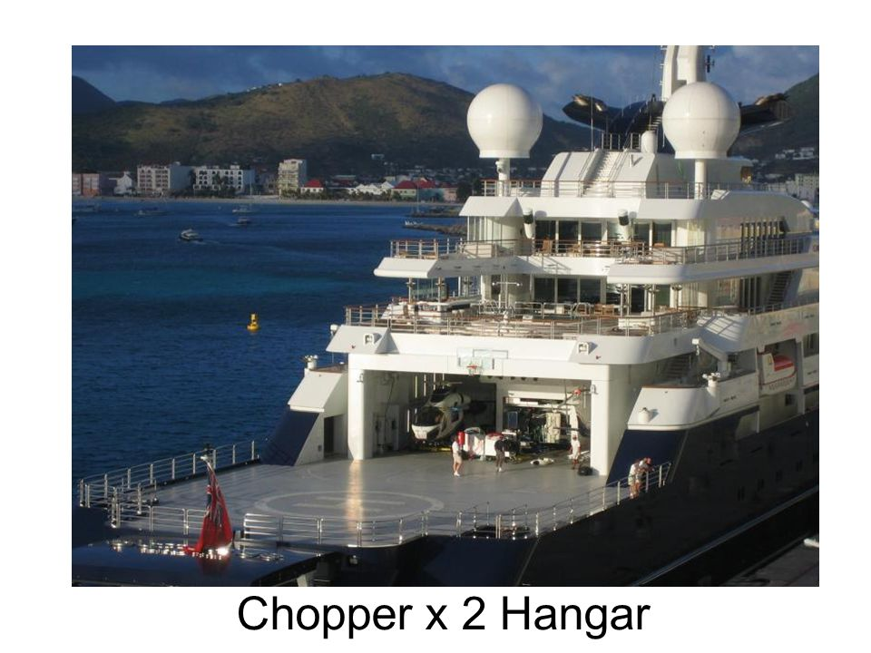 Chopper x 2 Hangar