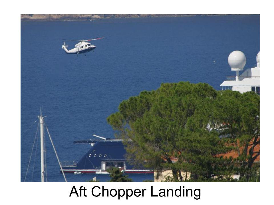 Aft Chopper Landing