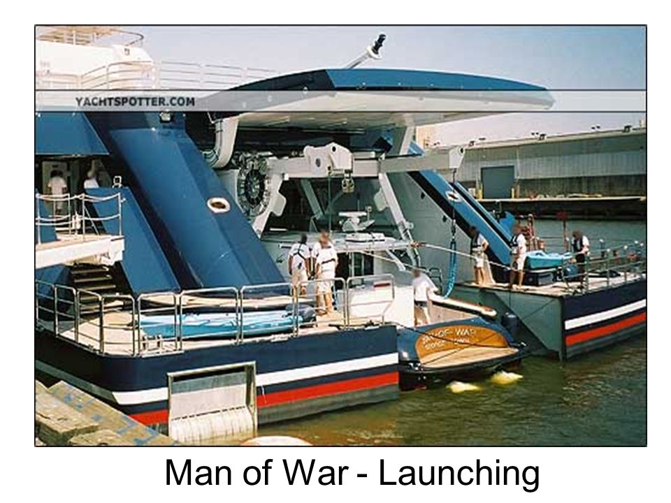 Man of War - Launching