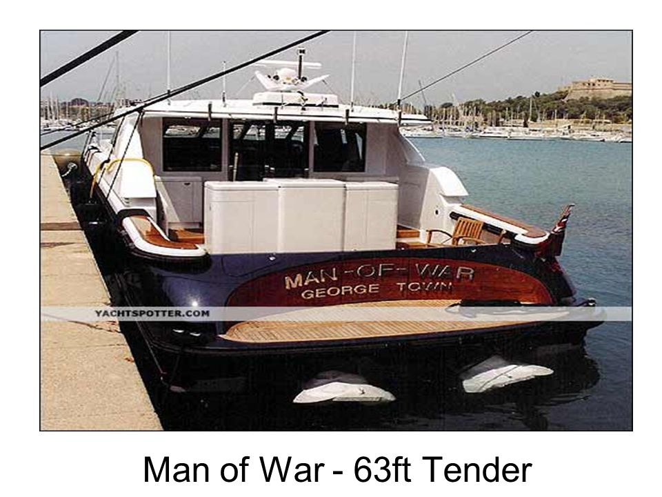 Man of War - 63ft Tender