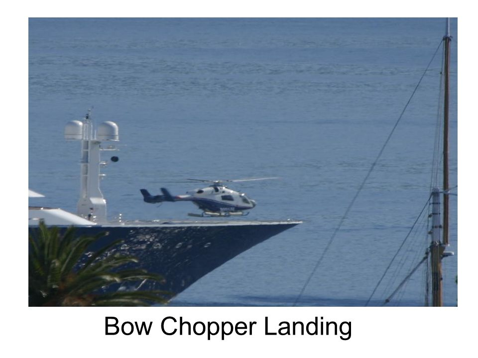 Bow Chopper Landing