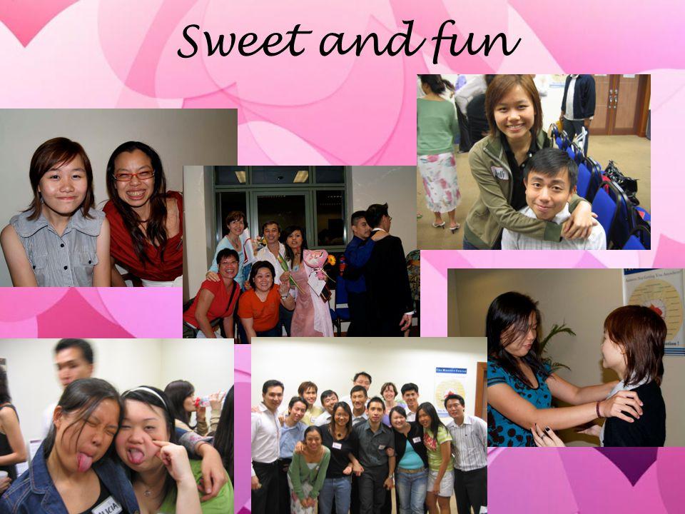 Sweet and fun