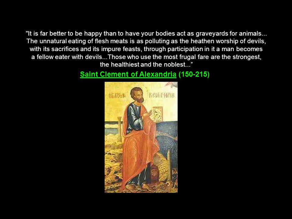 Saint Clement of Alexandria (150-215)