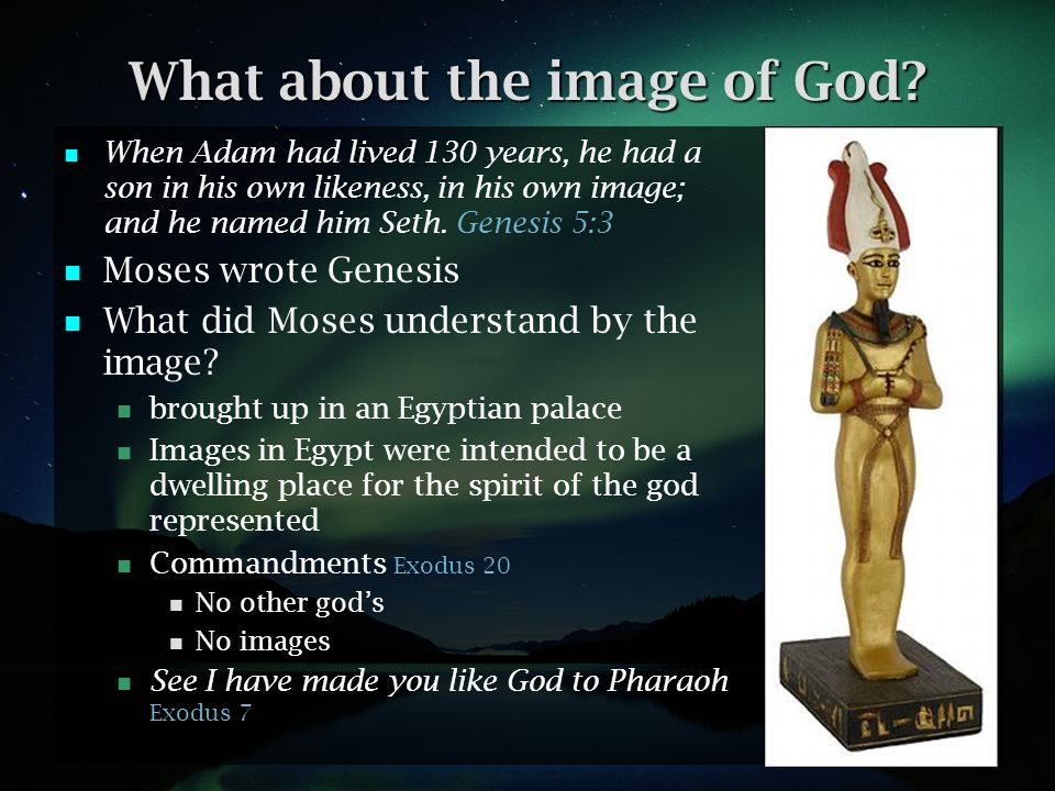 What about the image of God