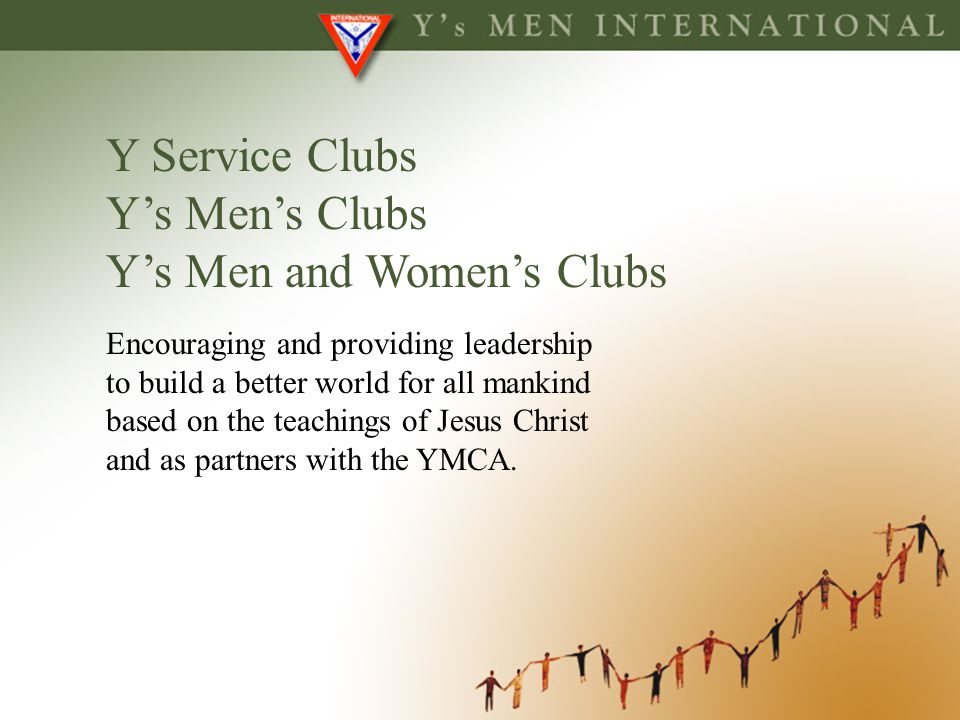 Y's Men and Women's Clubs