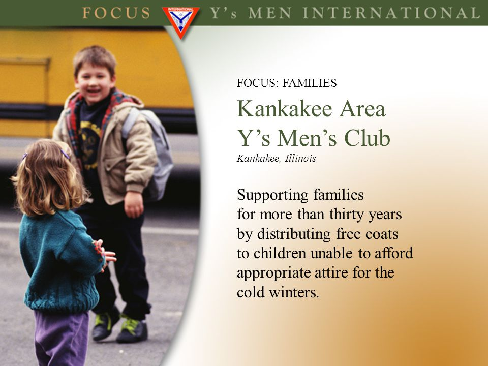 Kankakee Area Y's Men's Club Supporting families