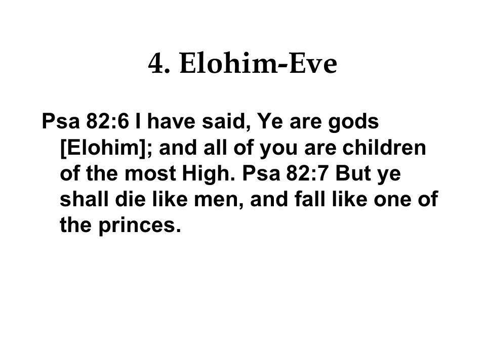 4. Elohim-Eve