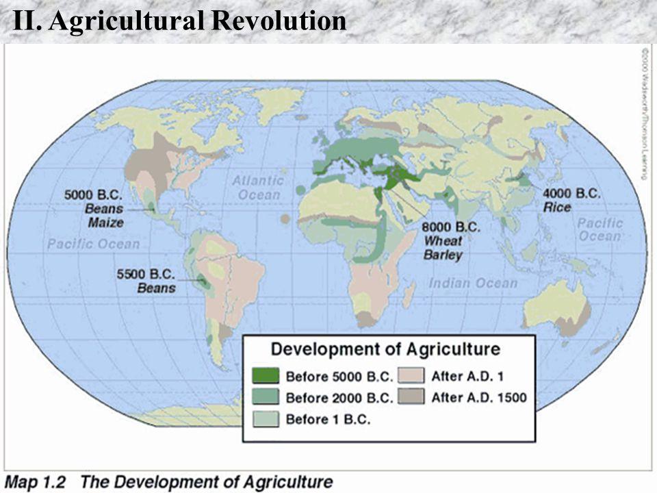 II. Agricultural Revolution