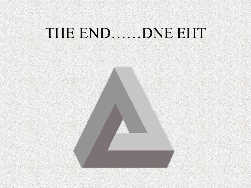 THE END……DNE EHT