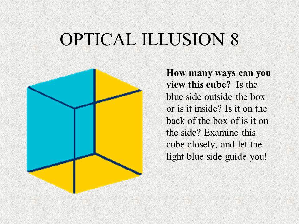 OPTICAL ILLUSION 8