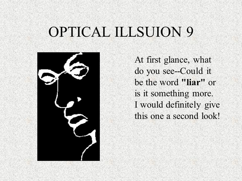 OPTICAL ILLSUION 9