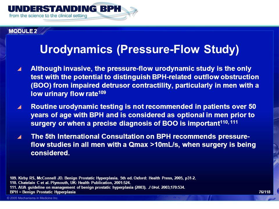 Urodynamics (Pressure-Flow Study)