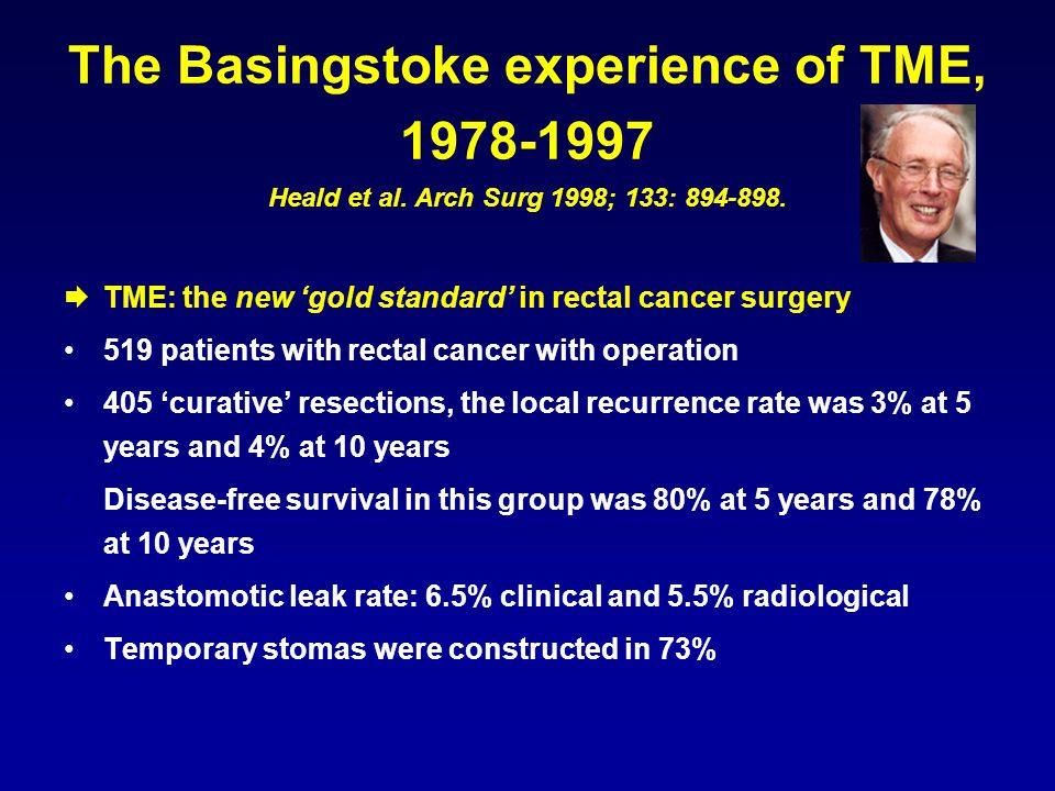 The Basingstoke experience of TME, 1978-1997 Heald et al