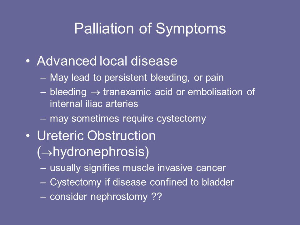 Palliation of Symptoms