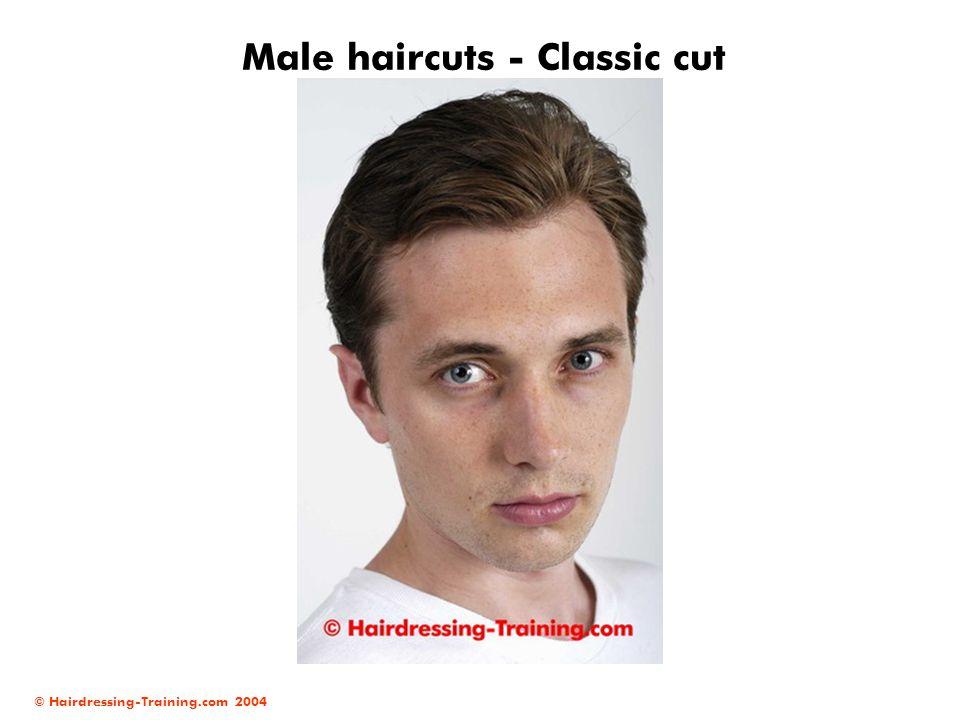 Male haircuts - Classic cut