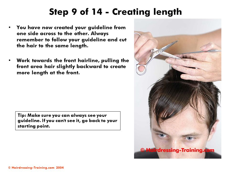 Step 9 of 14 - Creating length