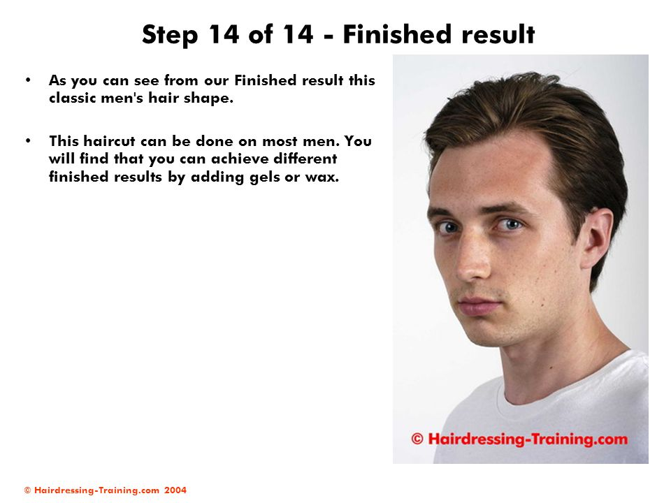 Step 14 of 14 - Finished result