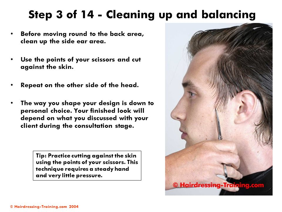 Step 3 of 14 - Cleaning up and balancing